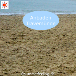 Anbaden in Travemünde