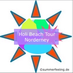 Holi Beach Tour Norderney