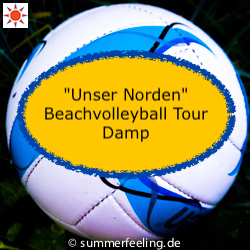 """Unser Norden"" Beachvolleyball Tour Damp"