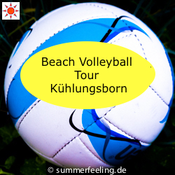Beach Volleyball Tour Kühlungsborn