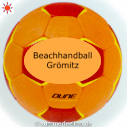 Beachhandball Grömitz