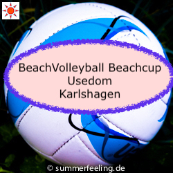 BeachVolleyball Beachcup Usedom Karlshagen
