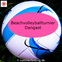 Beachvolleyballturnier Dangast