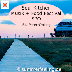 Soul Kitchen Musik + Food Festival SPO St. Peter-Ording
